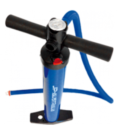 JP SUP PUMP (BLUE) double action с манометром