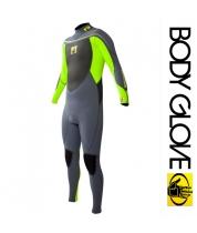 Body Glove 2015 Method 2.0 Bk/Zip 3/2 Fullsuit Green