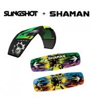 Комплект Кайтборд Shaman + Slingshot RPM