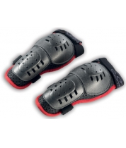 FTWO Kids long knee guards BLACK-RED