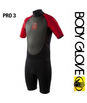 Body Glove 2015 Pro3 2/1 Springsuit Shorty Red