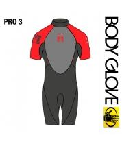 Body Glove 2015 Pro3 2/1 Springsuit Shorty Red
