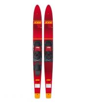 "Водные лыжи JOBE 17 Allegre Combo Skis Red 59"""
