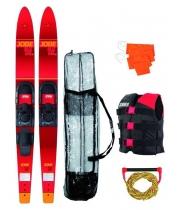 "Водные лыжи комплект JOBE 17 Allegre 67"" Combo Skis Red Pack"