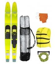 """Водные лыжи комплект JOBE 17 Allegre 67"""" Combo Skis Yellow Pack"""