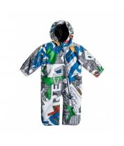 Quiksilver Teddy Bear Baby Suit Aop Moldan