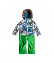 Quiksilver Rookie 5K Kids Suit Aop Moldan
