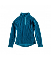 Roxy Mist Half Zip Girl Micro Dots Blue